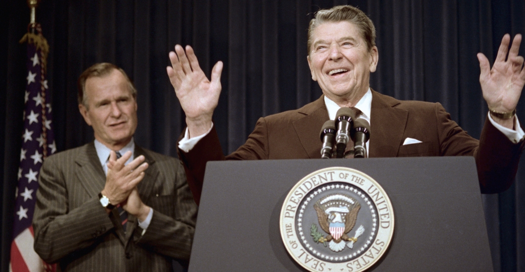 vice president, george bush, ronald reagan