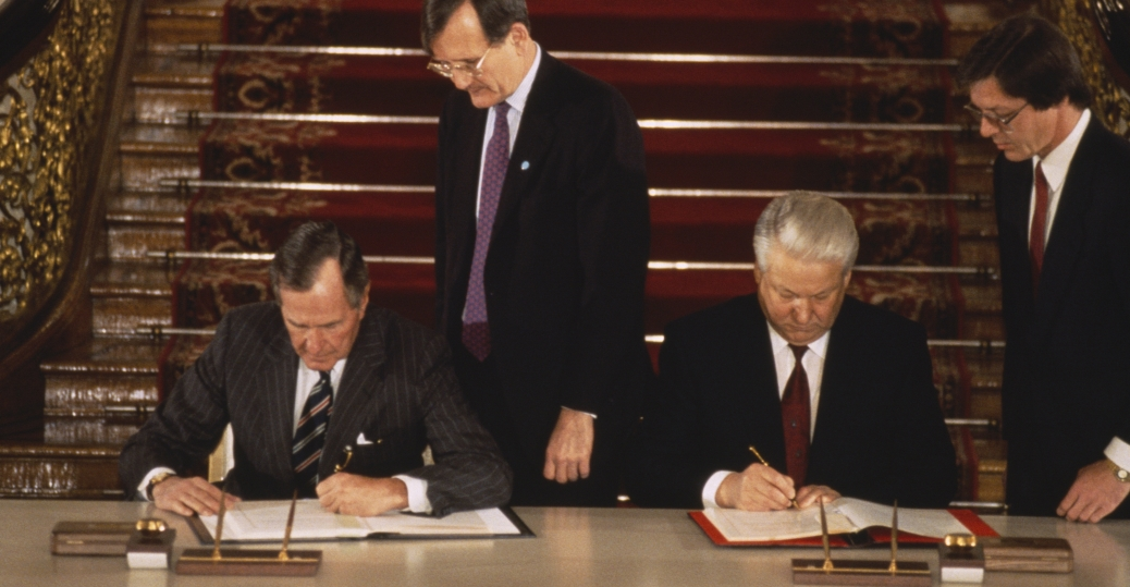 the soviet union, george bush, start agreement, gorbachev, nuclear weapons
