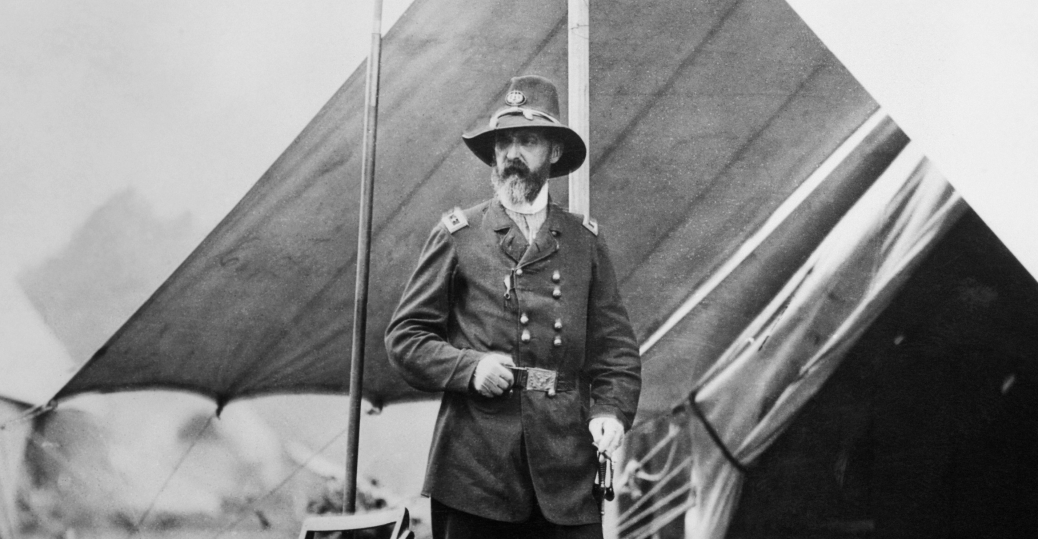 george meade, general george meade, union general, union military leaders, the civil war, battle of gettysburg