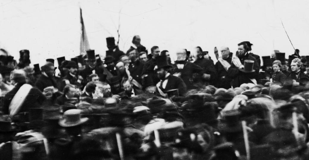 Abraham Lincoln Giving Gettysburg Address Gettysburg
