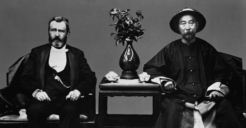 li hung-chang, chinese statesman li hung-chang, ulysses s. grant