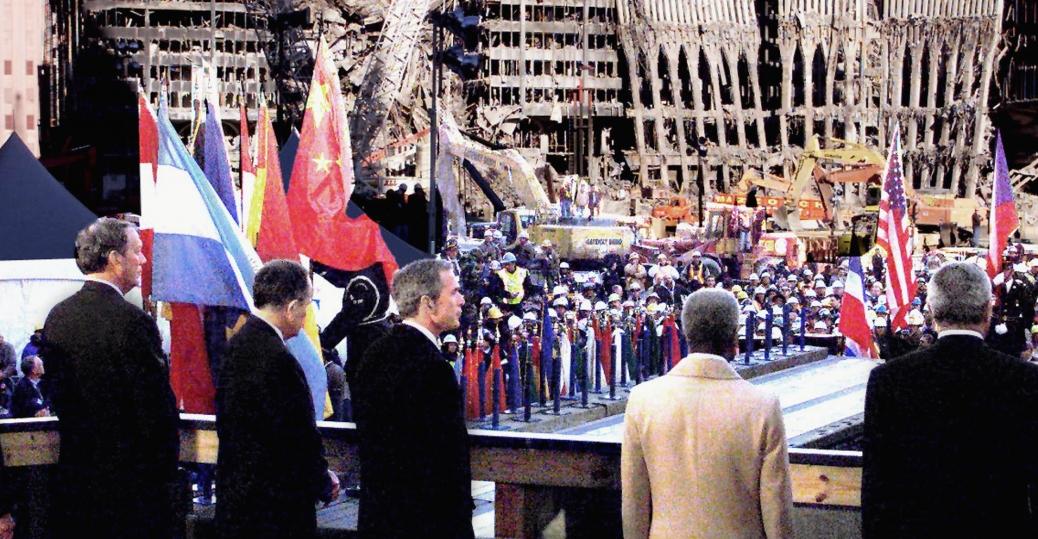 september 11th memorial, the taliban, bin laden, george w. bush