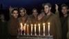 israel, hanukkah, israeli soldiers, menorah, the gaza strip, 2008, holidays, hanukkah celebrations