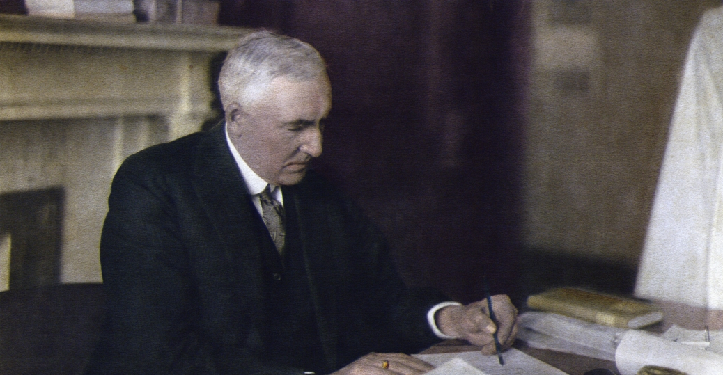 president harding, warren g. harding, 1865, corsica, ohio