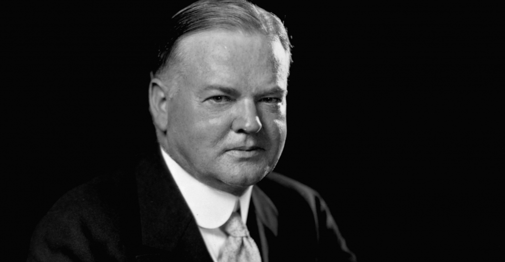 the great depression, hoovervilles, president herbert hoover