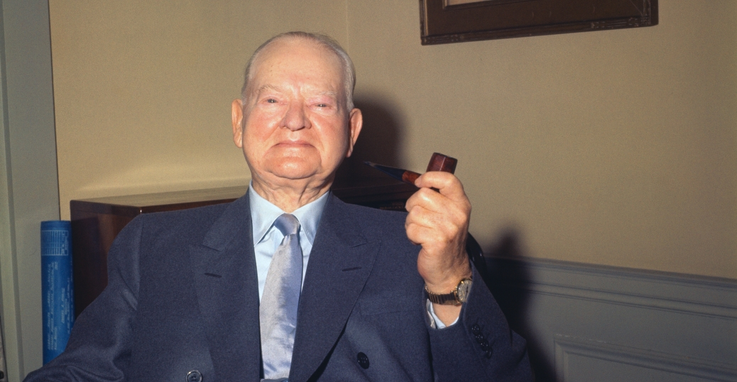 october 20 1964, herbert hoover, heart failure, president herbert hoover
