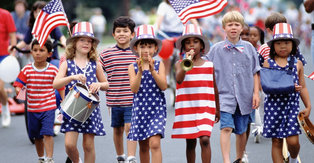 Image result for july 4th parades in US