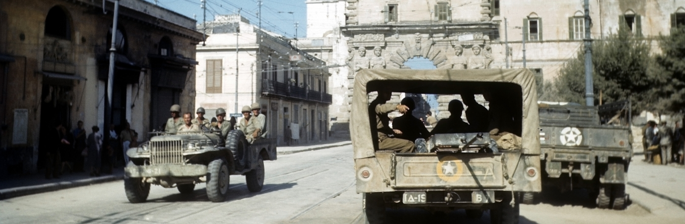 ALLIED INVASION OF SICILY DURING WWII
