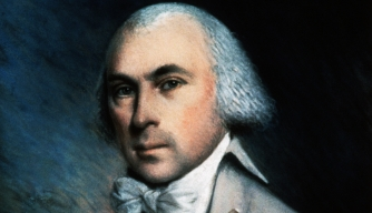 Portrait of Founding Father James Madison