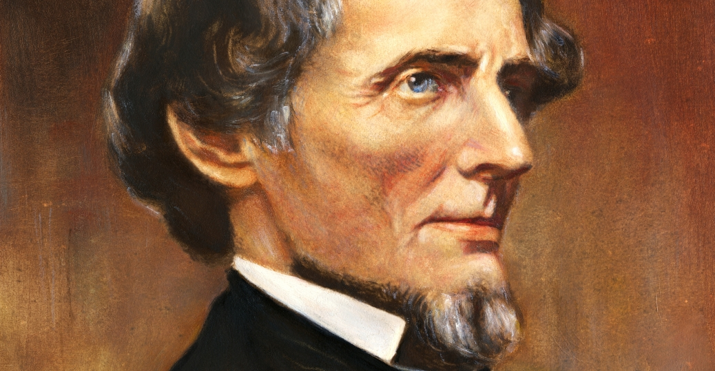 jefferson davis, president of the confederacy, confederate states of america, the civil war
