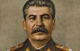 A painting of Joseph Stalin