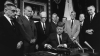 nuclear test ban treaty, 1963, president kennedy, john f. kennedy, the soviet union, jfk