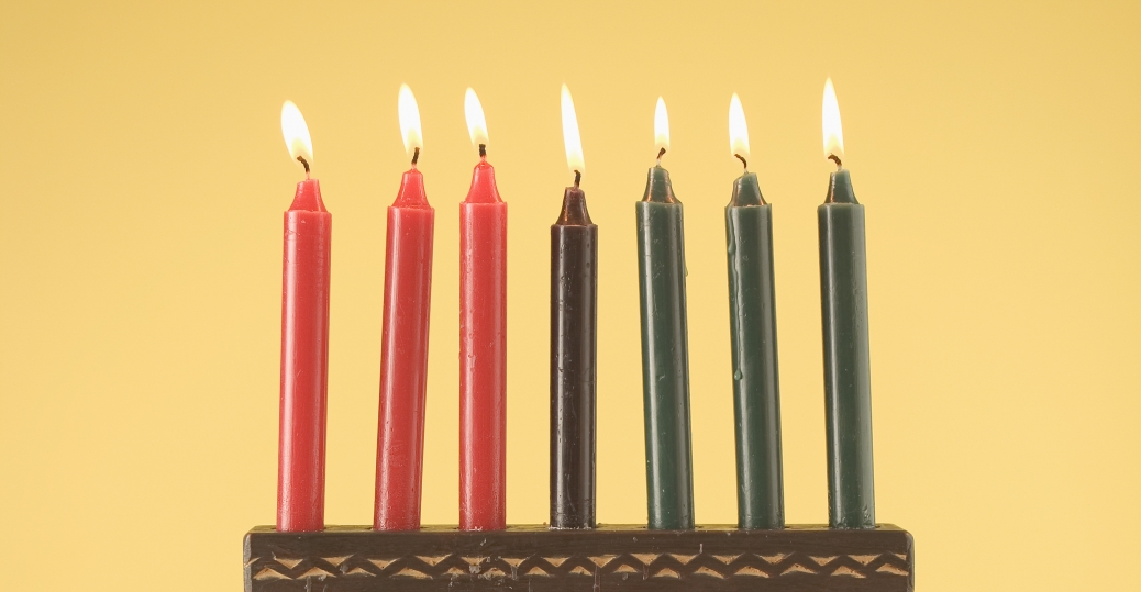 kwanzaa, the seven symbols of kwanzaa, symbols of kwanzaa, the seven candles of kwanzaa, mishumaa saba, kinara, holidays, kwanzaa celebrations