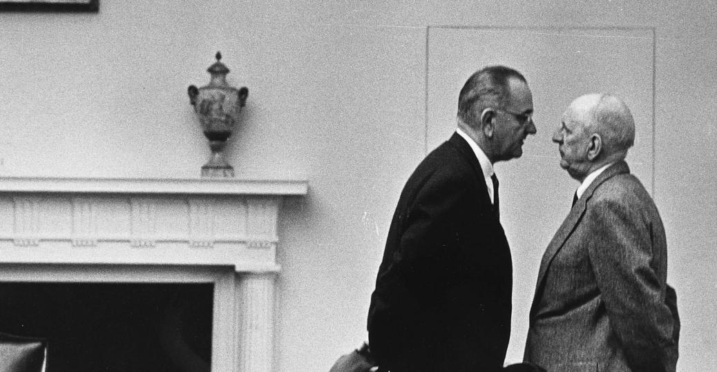 richard russell, lyndon b. johnson, president johnson