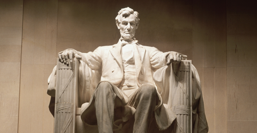 abraham lincoln, the lincoln memorial, washington d.c., daniel chester french, union military leaders, the civil war