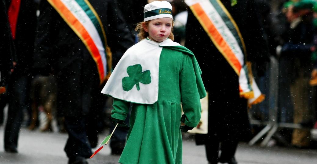 st. patrick's day, st. patrick's day parade, new york city, fifth avenue