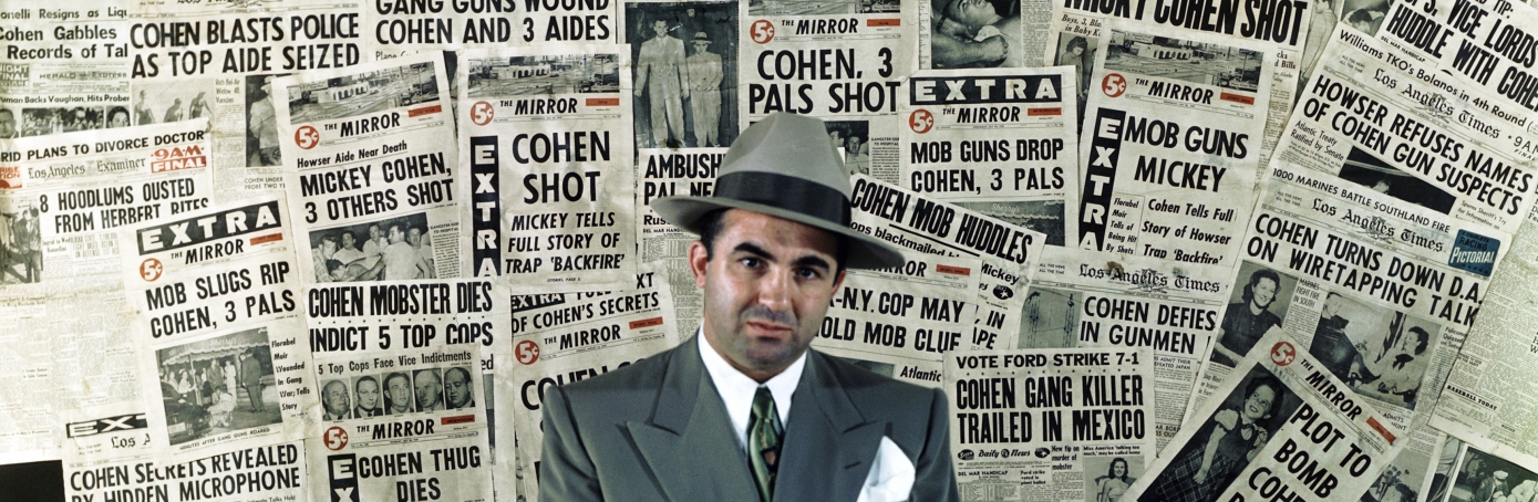 Mafia in the United States, mobster Micky Cohen