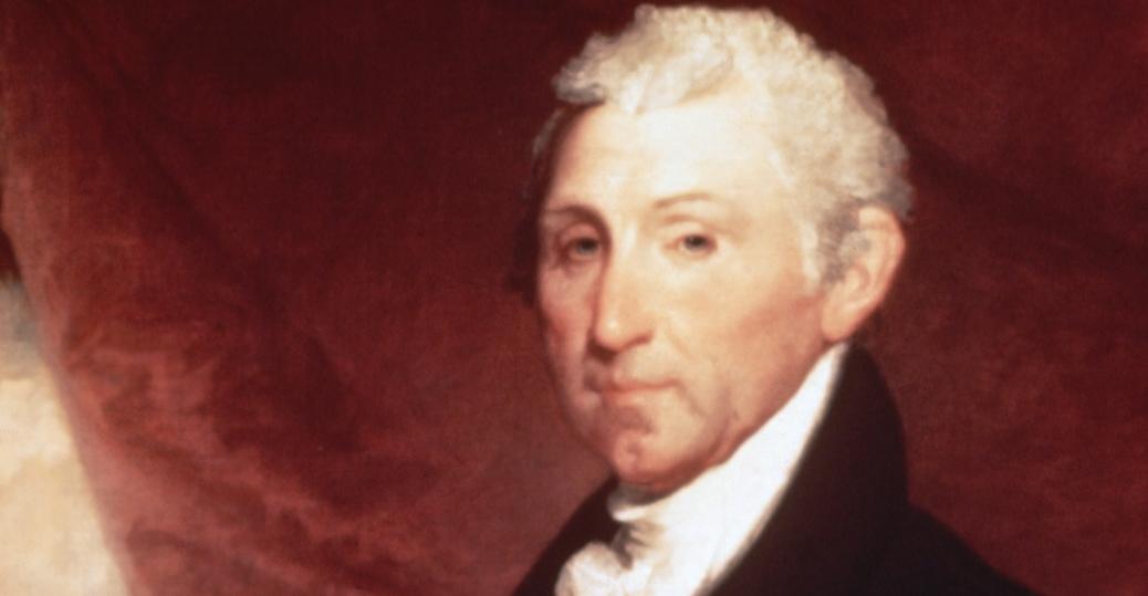 april 28 1758, president james monroe
