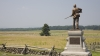 the new york infantry monument, the battle of gettysburg, gettysburg battlefield, new york monument, the civil war