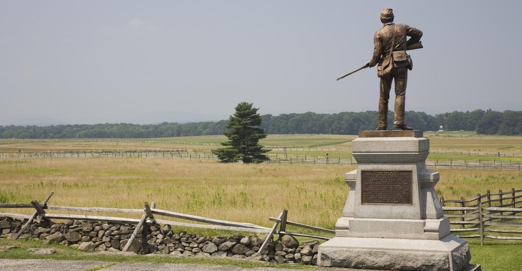 Image result for Gettysburg Battlefield