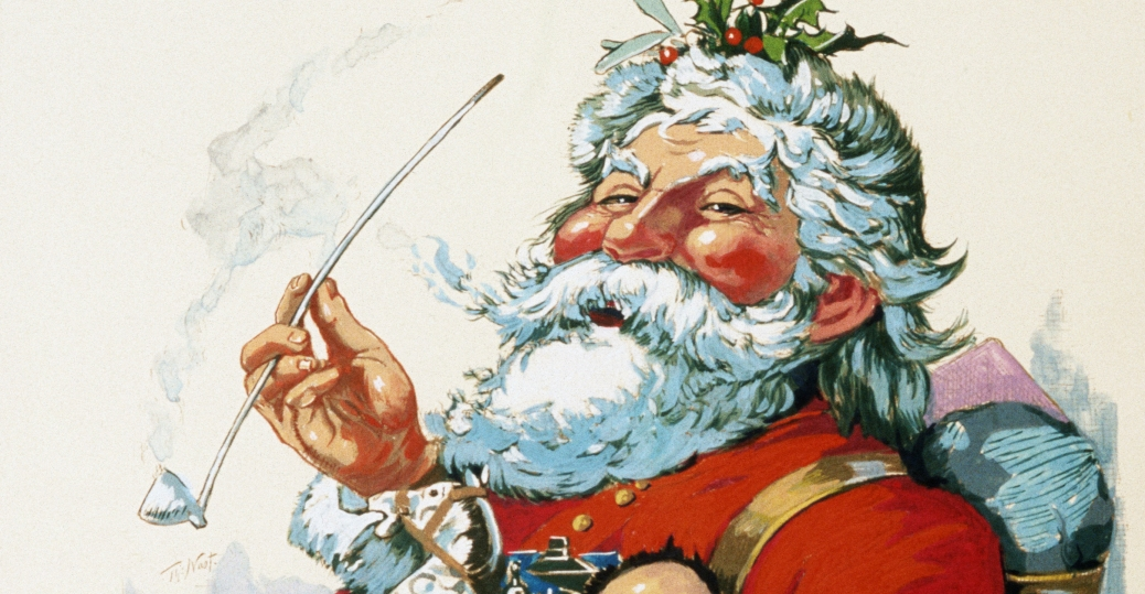 by-thomas-nast-3 - history of santa claus pictures - history of