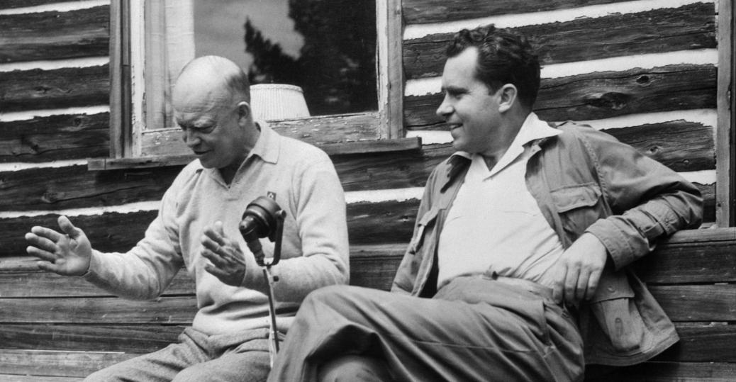 eisenhower, richard nixon, president nixon, 1956, 1952, nixon and eisenhower