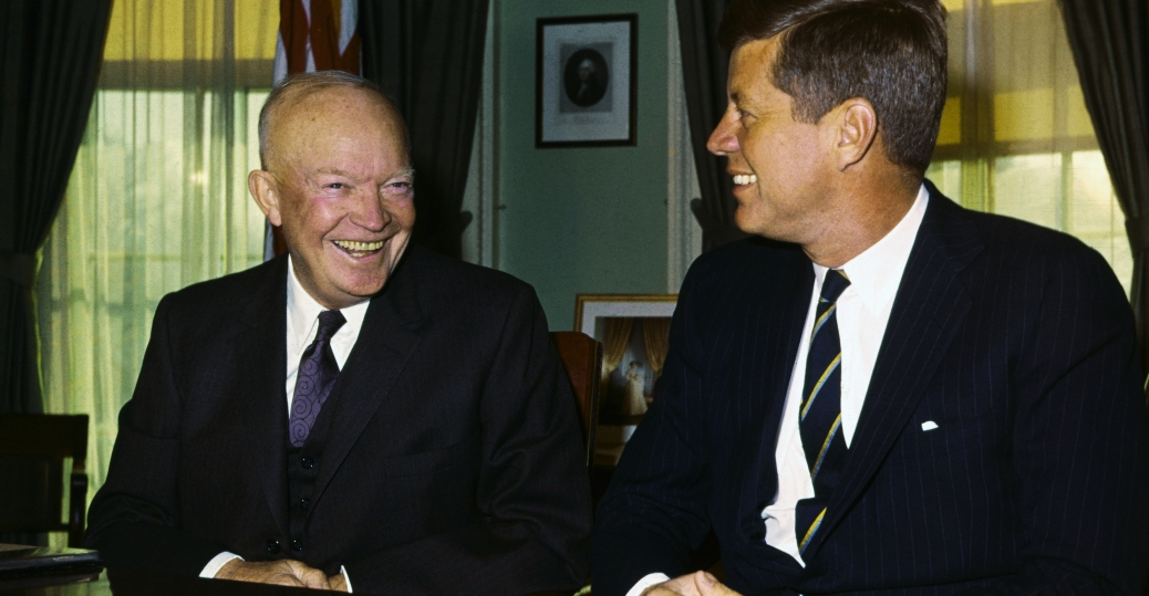 president eisenhower, president kennedy, american leaders, the cold war