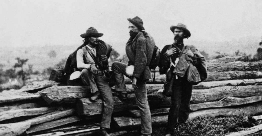 Confederate Army Prisoners Of War Gettysburg Pictures