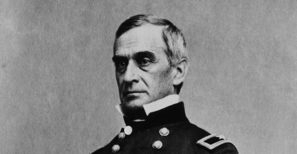 major robert anderson, federal commander, fort sumter, the civil war, the confederacy, bombardment of fort sumter