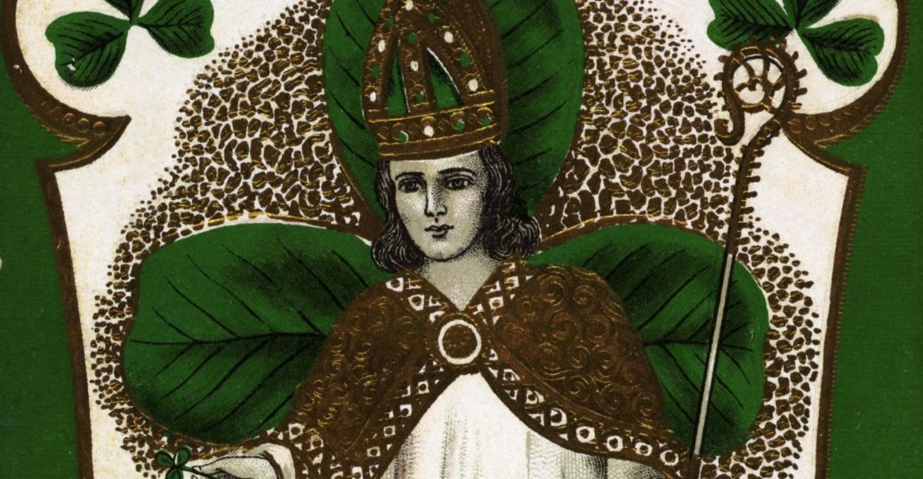 st. patrick's day, greeting card, erin go bragh, ireland forever, st. patrick, shamrock