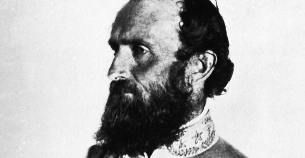 thomas jonathan stonewall jackson, general jackson, stonewall jackson, the first battle of bull run, 1861, the union, the confederacy, the civil war, civil war leaders, confederate leaders, battle of chancellorsville, 1863