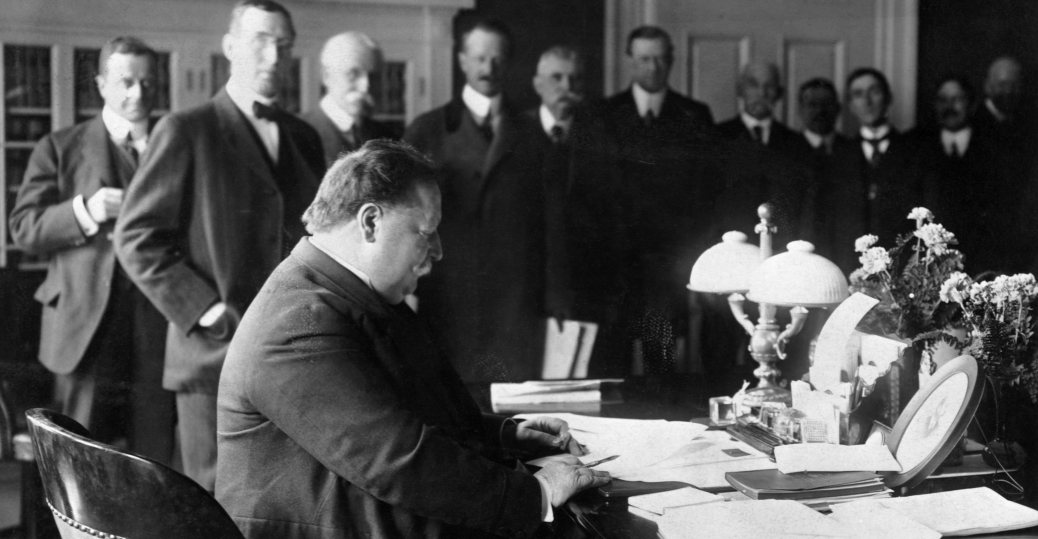 oval office history. President Taft, William H. Chief Justice Of The Supreme Court, Oval Office History