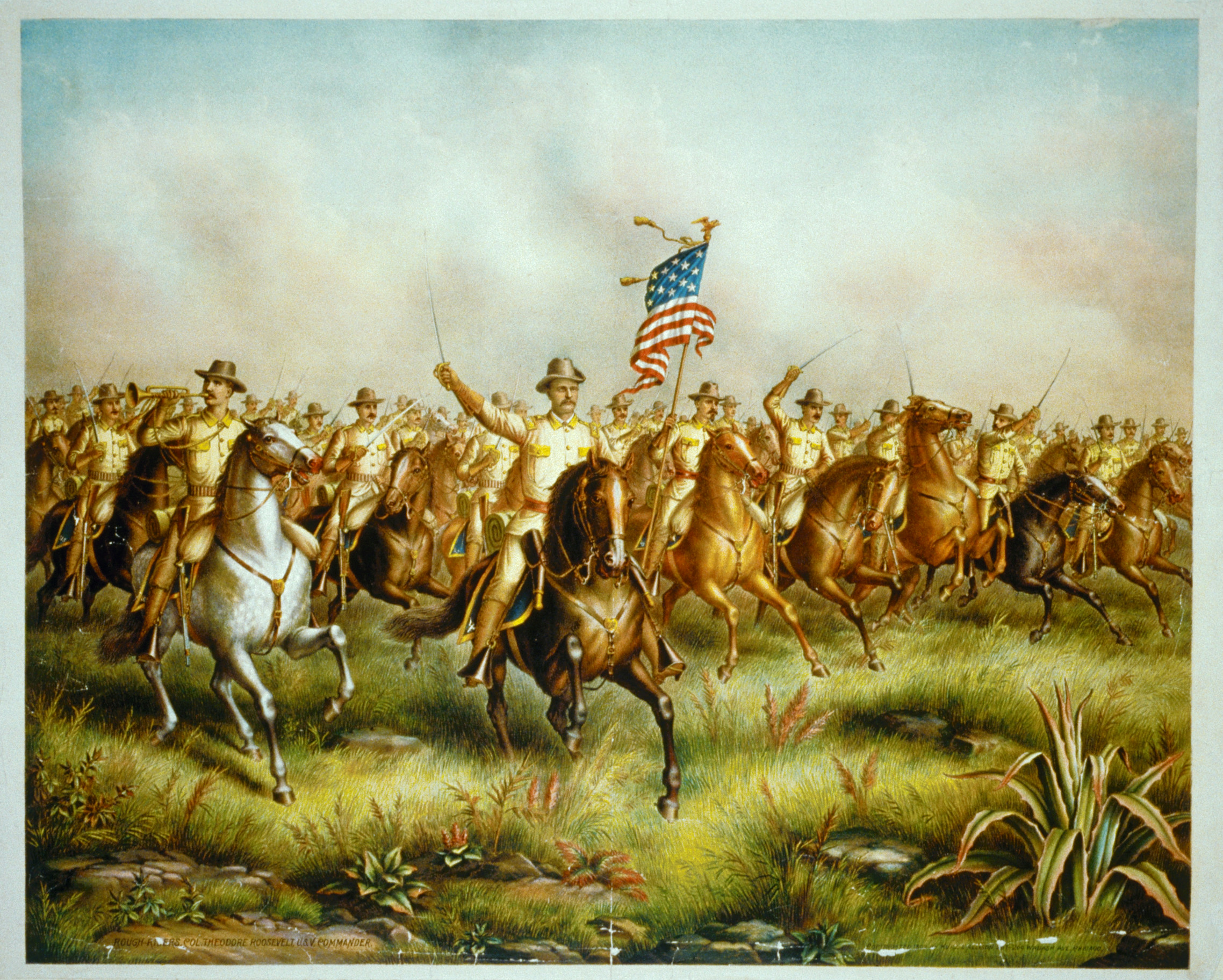 the mission of roosevelts rough riders in cuba Rough riders, popular name for the 1st regiment of us cavalry volunteers, organized largely by theodore roosevelt in the spanish-american war (1898) its members were mostly ranchers and cowboys from the west, with a sprinkling of adventurous blue bloods from the eastern universities.