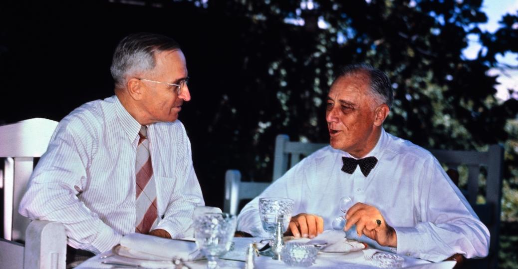 franklin d roosevelt, vice president, 1945, harry truman, harry s. truman