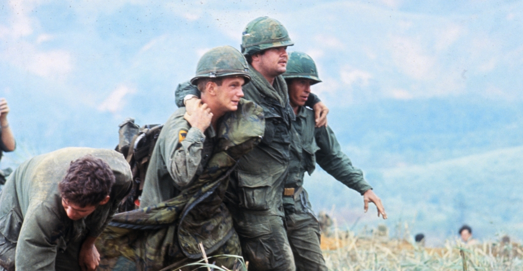 khe sanh, 1968, wounded soldier, the vietnam war, vietnam, american soldiers