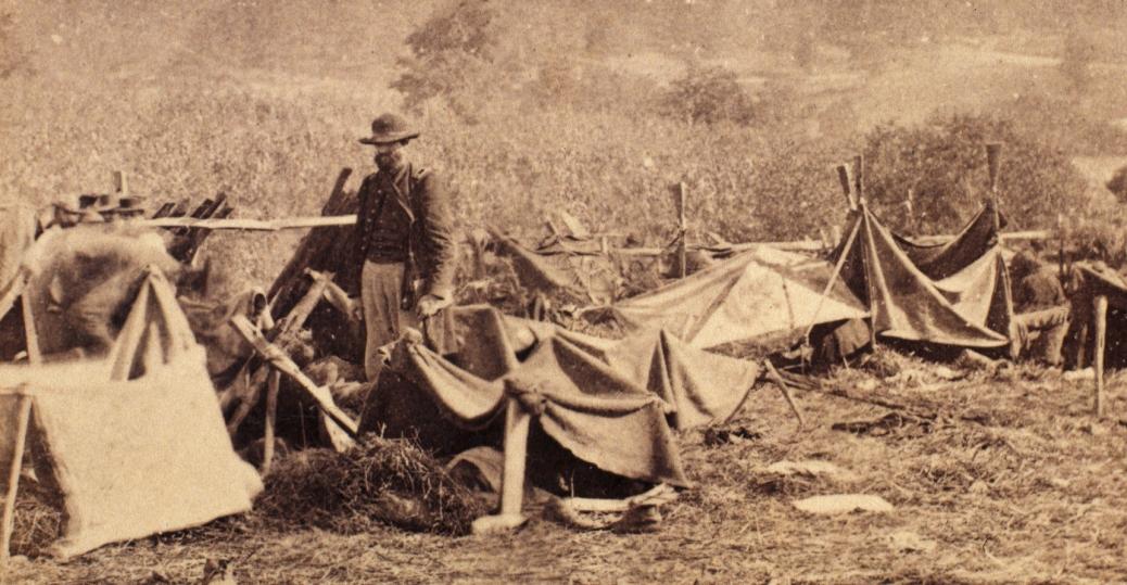 union physician, anson hurd, confederate soldiers, battle of antietam, the civil war, 1862, union field hospital