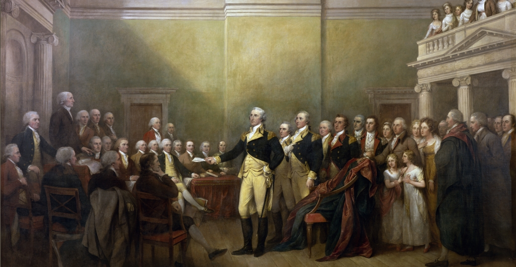 the treaty of paris, george washington, commander in chief