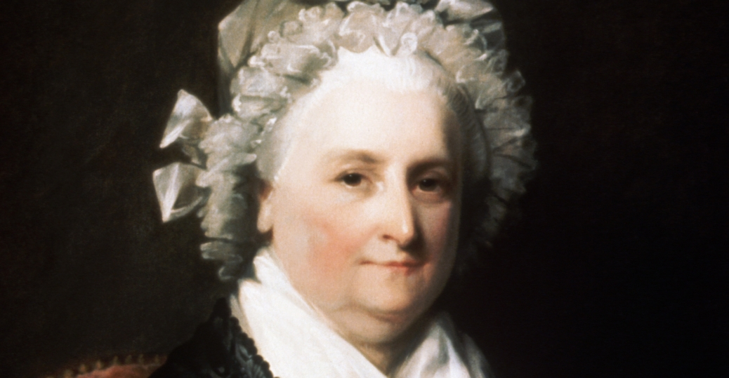 the first first lady, the first lady of the united states, martha washington