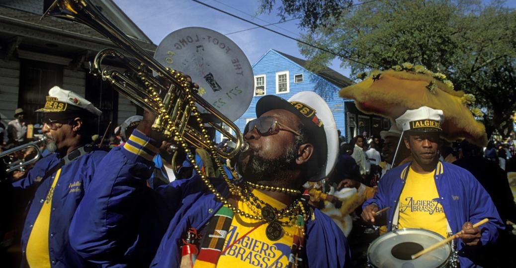 the zulu crewe, brass marching band, mardi gras, mardi gras parade, new orleans, louisiana