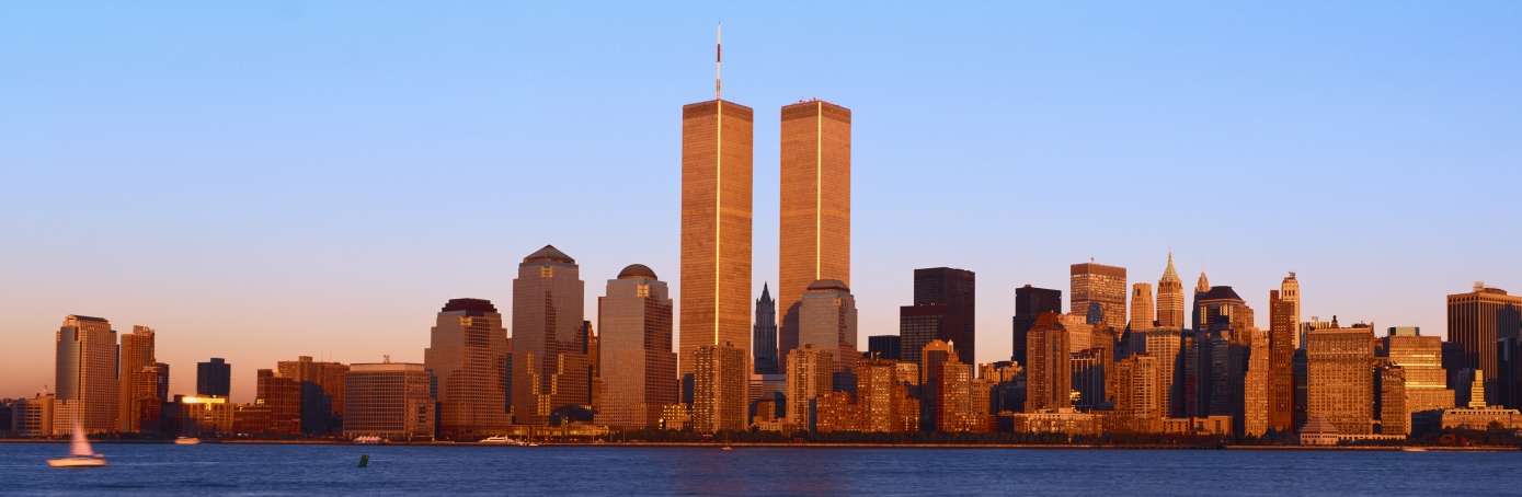 world trade center facts summary com lower manhattan skyline world trade towers at sunset