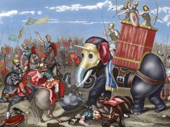 A history of rome and carthage in first and second punic wars