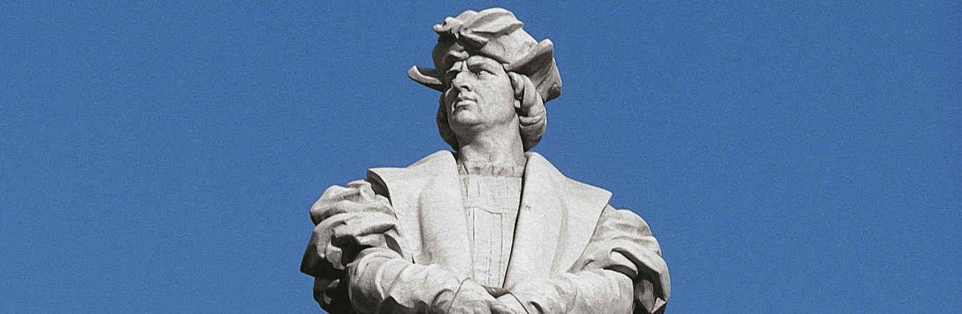 Monument to Christopher Columbus in Buenos Aires, Argentina.