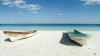 boats on beach, tulum, quintana roo, mexico