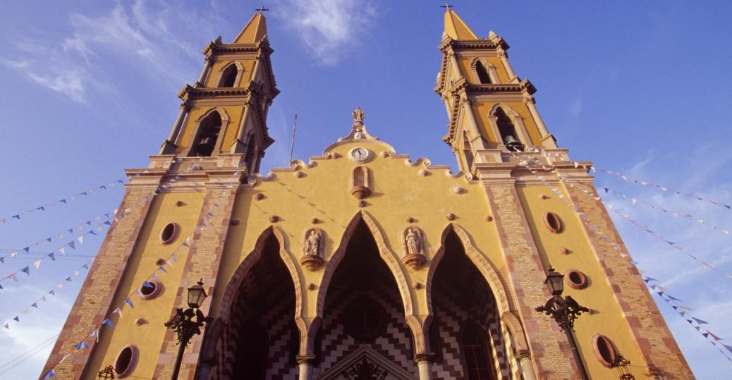 mazatlan cathedral, sinaloa, mexico