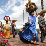 atlixquences women, mexican charros, huey atlixcayotl, great atlixcan tradition, nahuatl, last sunday of september, traditions, dance, puebla, mexico