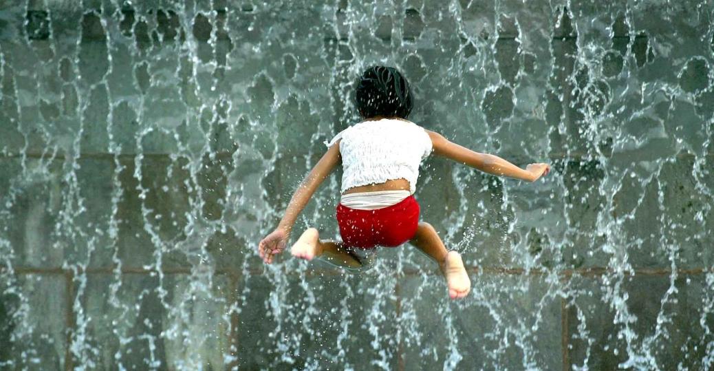 water fountain, monterrey, central monterrey, nuevo leon, mexico