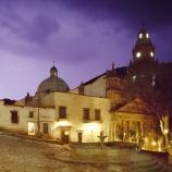 cathedral square, san luis potosi, mexico