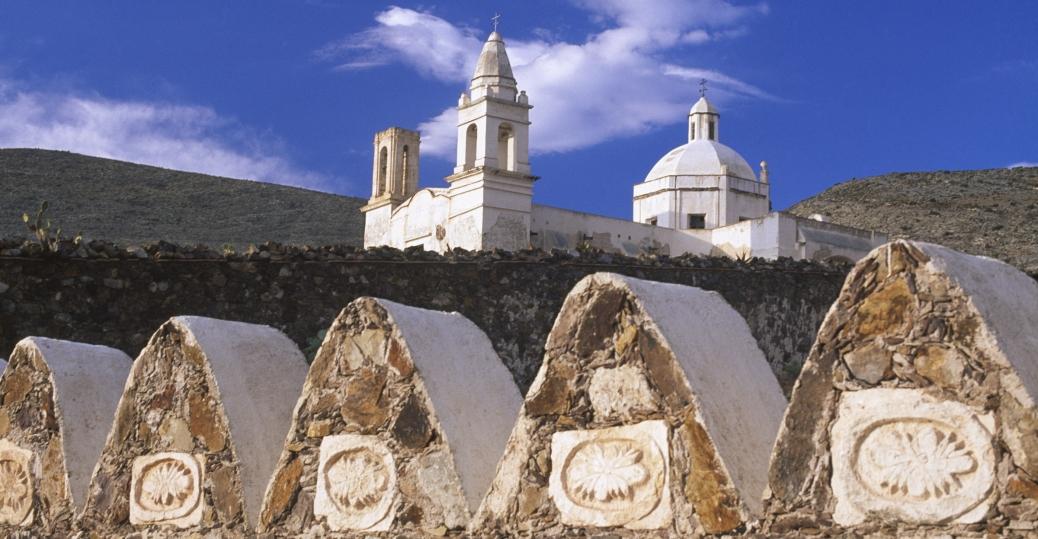 church, cemetery, san luis potosi, mexico