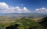 oaxaca valley, monte alban temple complex, oaxaca, mexico