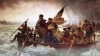 general george washington, the Delaware river, surprise attack, hessian troops, trenton, new jersey, 1776, the american revolution